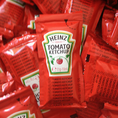 Heinz Tomato Ketchup Sauce Sachets Individual 11g 10ml ** NEW LOWER PRICES **