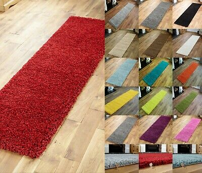 Premium Quality Shaggy Collection - Hall/ Hallway Runner Rugs - Thick 5Cm Pile