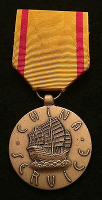 US Marine China Service Campaign Medal Reproduction  *INV5111