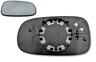 G67/ Saab 9-3 9-5 /03-09 Right Side (Driver) Heated Door Mirror Glass 12795611