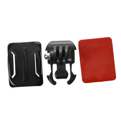 Helmet Curved Surface+3M SticBasic Mount for GoPro Hero 3 2 1 Camera MJ