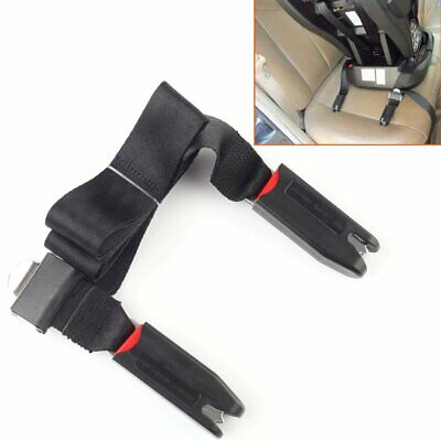 1x Car Baby Safe Seat Strap Isofix Latch Soft Link Belt Adjustable Anchor Holder