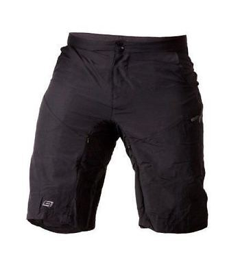 Bellwether Mens Escape w Chamois Mountain Bike Shorts - Small - Black