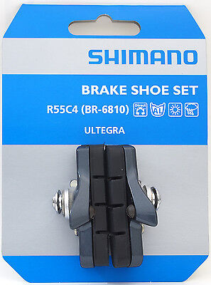Shimano R55C4 BR-6810 Cartridge Brake Shoes Pads Set fits Ultegra 105, 1 Pair