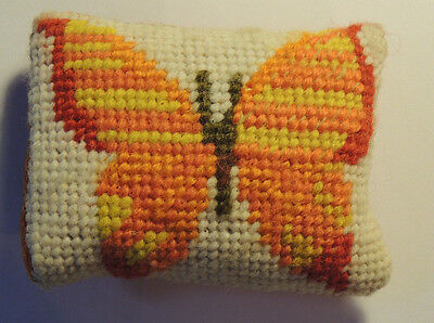Butterfly Pin Cushion over 3 inches long (9242)