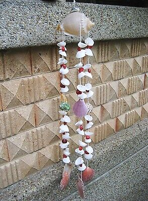 Sea Shell Hanging Wind Chime Beautiful Mobile Home Garden Decoration Handmade #3