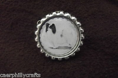 Papillon Dog Show Ring Clip by Curiosity Crafts