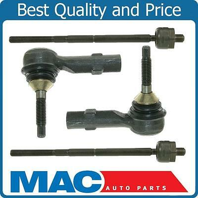 Inner & Outer Tie Rod Rods End Ends Kit For Ford Flex Taurus X Mercury Sable