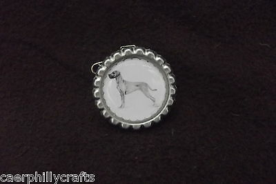Great Dane Dog Show Ring Clip by Curiosity Crafts