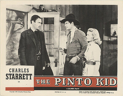 The Pinto Kid 1955 Original Movie Poster Western