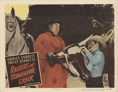 Raiders of Tomahawk Creek 1950 Original Movie Poster Action Western