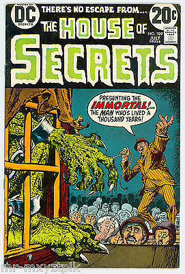 House Of Secrets #109 Fn Nick Cardy Cvr Classic Bronze Age Horror 1973