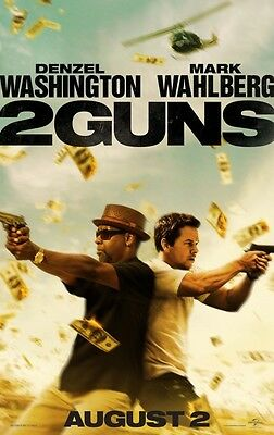 2 Guns Advance Single Sided Original Movie Poster 27x40 inches