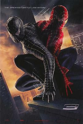 Spider-Man 3 Adv D Embossed  the greatest  Movie Poster 27x40 Two Sided Original