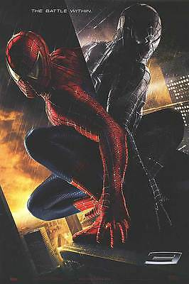 Spider-Man 3 Adv B The Battle Within Movie Poster 27x40 Two Sided Original