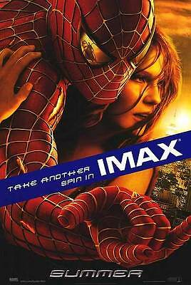 Spider-Man 2 Imax  27 x40 Double Sided Movie Poster Original