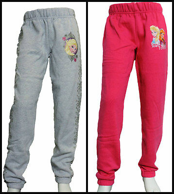 Girls Disney Frozen Jogging Pants/track bottoms/sweat bottoms age 4-10 years