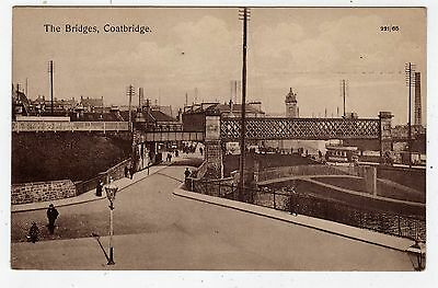 Scotland, Coatbridge, The Bridges And General View