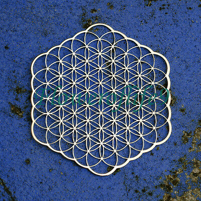 Flower of life - Carafe or water Bottle coaster (7,2 x 6,5 cm) - Stainless Steel