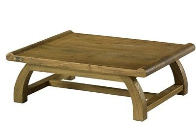 Elm Wooden Tea Table Old Japanese Style Coffee Low Floor
