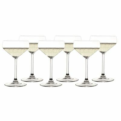 Zuhause - Style Champagne 290ml Saucer set 6   (Made in Germany)
