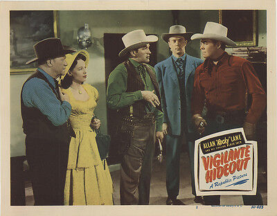 Vigilante Hideout 1950 Original Movie Poster Action Adventure Western