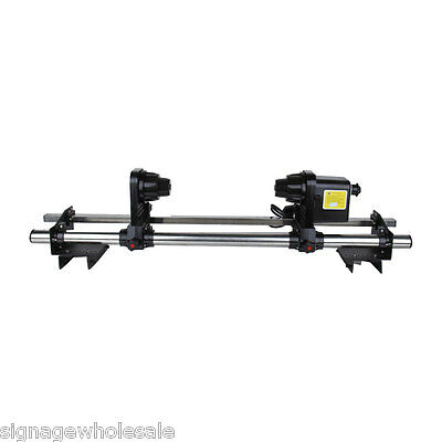 """64"""" Automatic Media Take up Reel D64 for Mutoh/ Mimaki/ Roland/ Epson Printer"""