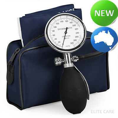 elitecare® - Single Hand Sphygmomanometer BP for Nurses - Navy