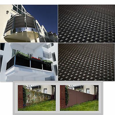 Privacy Garden Fence Panel Cover Balcony Shade Mat Screen Sunshade Rattan Effect