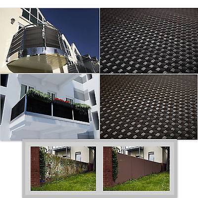 Privacy Garden Fence Panel Cover Balcony Shade Screen Sunshade Rattan Effect