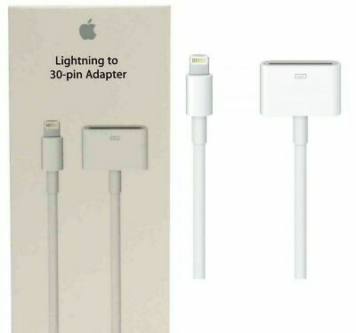 New Genuine Apple Md824Zm/A Lightning To 30-Pin Adapter For Iphone/Ipad/Ipod