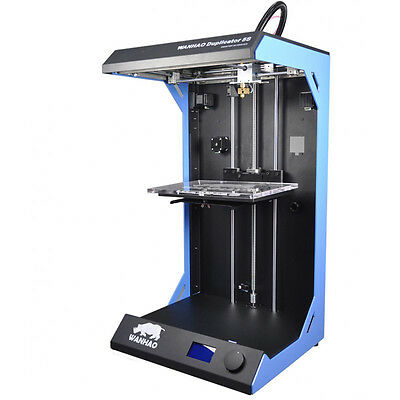 WANHAO DUPLICATOR 5S 3D PRINTER D5S - LARGE BUILD VOLUME 305mm x 205mm x 575mm
