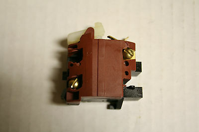Bosch 1609200060 Genuine OEM Switch for 1340 Angle Grinder