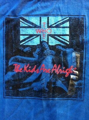 THE WHO The Kids Are Alright T Shirt Gapkids XXL 14-16 NWOT Mod