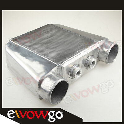 "Air-Water Intercooler 410x310x115mm 3.5"" Inlet & Outlet"