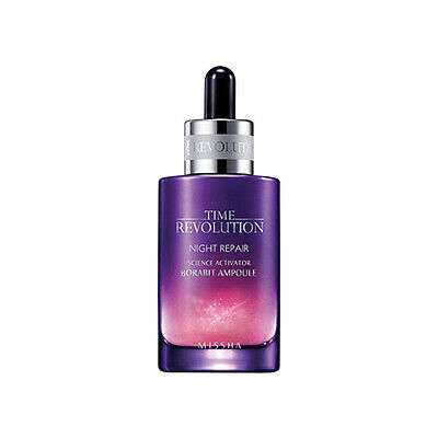 [MISSHA] TIME REVOLUTION Night Repair Science Activator Ampoule 50ml [RUBYRUBYST