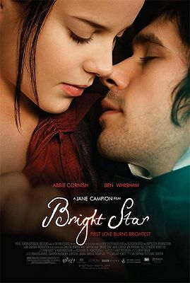 Bright Star Double Sided Original Movie Poster 27x40 inches