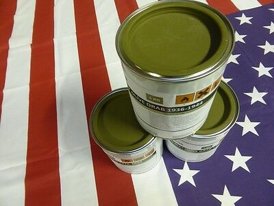 Pot 1 kg peinture US Olive Drab 1936/44 Jeep Dodge Gmc Harley Scout Half Willys