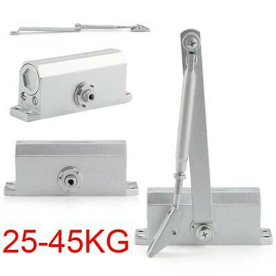 45~60KG Heavy Duty FIRE RATED Overhead Door Closers Opener Soft Close Adjustable
