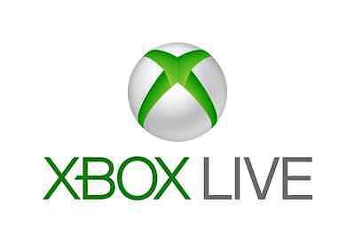 FIVE (5X) Xbox Live 2 Day Trial Gold Membership Code DLC 360 Xbox One 360