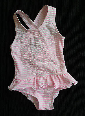 Baby clothes GIRL 3-6m Matalan pink white frill bow swimsuit SEE SHOP!