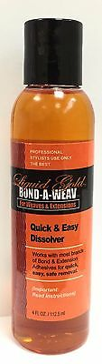 "LIQUID GOLD BOND-A- WEAV  EXTENSIONS BOND GLUE REMOVER ""4fl.oz/112.5ml"""