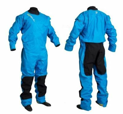 Gul Dartmouth Front Zip Drysuit +  Under Fleece Canoe Kayak Sailing Dry Suit