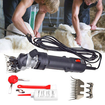 450W Sheep Shears Goat Clippers Animal Livestock Shave Grooming Farm Supplies