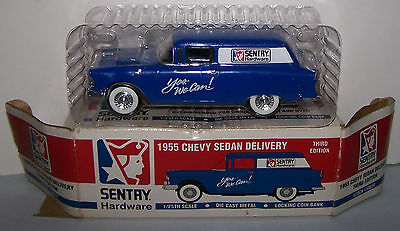 1955 Chevy Sedan Delivery Sentry Hardware Third Edition 1/25 Scale Die-Cast Meta
