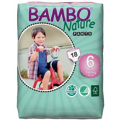 Bambo Training Pants - Junior XL Size 6 - Pack of 18