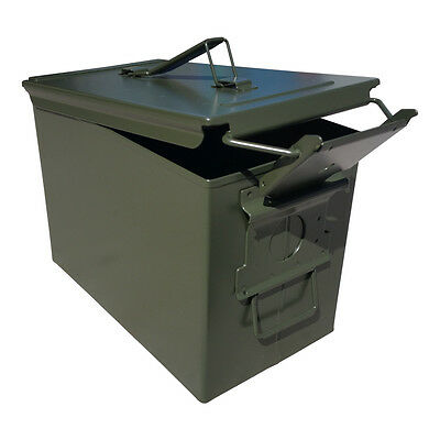 Blank Brand New Mil-Spec Fat 50 Cal Pa108 Saw Box Empty Ammo Can Rare