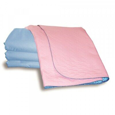 Sonoma Pink Bed Pad With Tuck In Sides (3500ml) Double