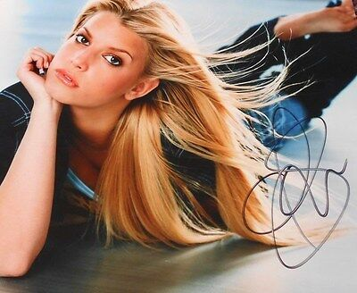 Jessica Simpson  Screams Sexy * Hand Signed - Great Photo  8X10