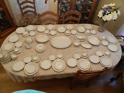 Noritake China The Lorraine  Service for 10  w/ 9 Serving Pieces Circa 1918-1924